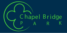 Chapel Bridge Park. logo